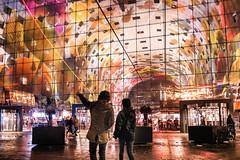 Markthal Rotterdam (thijs.coppus) Tags: myfujilove fujilove fujixpro2 fujifilm rain lampen lights niederlande netherlands holland markthal rotterdam