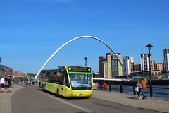 Go North East Quaylink 5388 / NL63 YAW (TEN6083) Tags: newcastle v1170 versa optare nl63yaw 5388 quaylink gonortheast publictransport transport nebuses buses bus