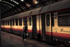 Italy - Milan (SergioQ79 - Osanpo Photographer -) Tags: italy italia milan train railway station people light nikon september 2019 d7200