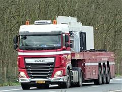 DAF XF106 spacecab from Driessen Holland. (capelleaandenijssel) Tags: 21bhv7 truck trailer lorry camion lkw netherlands nl bt