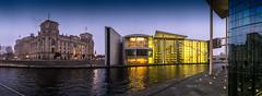 Reichstag und Paul Löbe Haus, Berlin