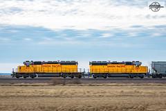Northbound UP Local Train at Ives, MO (Mo-Pump) Tags: train railroad railfan railroader railway railroading railroads railfanrailroader locomotive