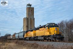 Northbound UP Local Train at Junland, MO (Mo-Pump) Tags: train railroad railfan railroader railway railroading railroads railfanrailroader locomotive