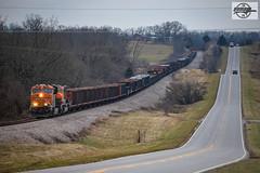 Southbound BNSF Special Unit Train at Dunn, MO (Mo-Pump) Tags: train railroad railfan railroader railway railroading railroads railfanrailroader locomotive