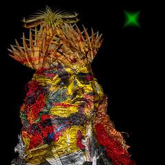 Presagio - Omen (COLINA PACO) Tags: retrato ritratto portrait omen presagio surreal surrealismo surrealism surrealportrait fotomanipulación fotomontaje photomanipulation franciscocolina