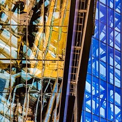 Vikings Stadium (David M Strom) Tags: minneapolis abstract architecture davidstrom reflections