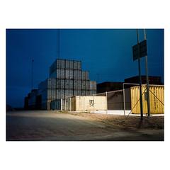 Aarhus, 2019. (csinnbeck) Tags: analog film fuji gs645s gs645 120 120film medium format kodak portra 400 aarhus denmark harbour industry industrial containers