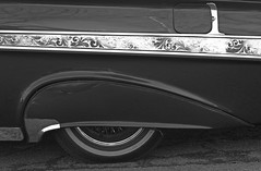 Obsession CC Impala fender detail B&W (Light Orchard) Tags: car auto automobile voiture restomod restored vintage antique old classic impala chevrolet chevy ©2020lightorchard bruceschneider