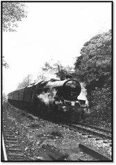 Jubilee on Railtour (john48677) Tags: greetland bank jubilee 45562 alberta sixties steam