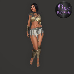 Greek Merc Armor Misthios! (Xyl'phae) Tags: second life phae body works greek armor