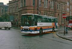 Stagecoach Manchester 2 (ESU 920 ex-F950 NER) (SelmerOrSelnec) Tags: stagecoachmanchester scania k92crb vanhool esu920 f950ner 201 manchester chorltonstreet whitworthstreet millerfoxton bus coach