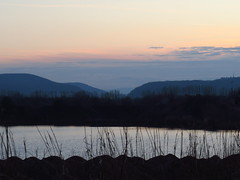 Kiesgrube vor Geratal vor sunset (germancute ***) Tags: nature landscape landschaft outdoor thuringia thüringen