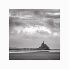 Back to Mont Saint-Michel (Frans van Hoogstraten) Tags: lemontsaintmichel normandy normandie clouds landscapephotography france fransvanhoogstraten