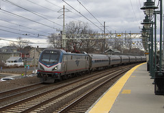 New Year's 161 (imartin92) Tags: milford connecticut amtrak northeastcorridor electric catenary railroad passenger train northeastregional siemens acs64 sprinter locomotive