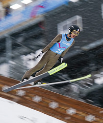 Ski Jumping official training (iocyoungreporters) Tags: lausanne switzerland
