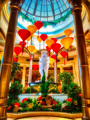 The Year of the Rat (Bombatron) Tags: chinese new year exhibit explore flickr rat palazzo venetian las vegas colorful playful balloons traditional lovely colors bold striking joyous iphone xr