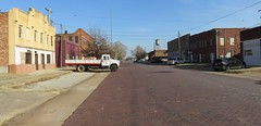 Downtown Waurika, Oklahoma (courthouselover) Tags: oklahoma ok downtowns jeffersoncounty waurika northamerica unitedstates us chisholmtrail