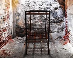 Rusty Bunkbed (fotophotow) Tags: easternstatepenitentiary philadelphia