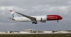 Boeing 787-9 (G-CKWS) Norwegian Airlines (Mountvic Holsteins) Tags: boeing 7879 gckws norwegian airlines mia miami international airport