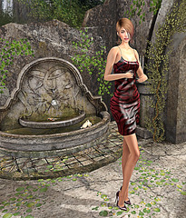 LuceMia - ::: WILD ::: Fashion & Beauty (2018 SAFAS AWARD WINNER - Favorite Blogger -) Tags: wildfashionbeauty designershowcase dress earrings sharon shoes pumps event exclusive sl secondlife mesh fashion creations blog beauty hud colors models lucemia marketplace outfit