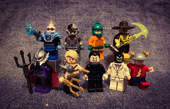 DC Figs #7 (Snowy Bricks) Tags: 7 dc comics minifigures lego 2020 aquaman cmf joker