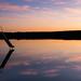Rutsche im See