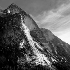 Half Dome Rising (Tom R Cottrell) Tags: california usa halfdome yosemitenationalpark yosemitevalley mountains cliffs