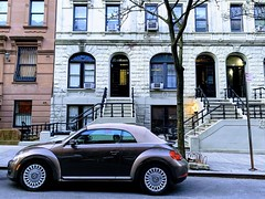 Little convertible bug upper west side Manhattan (dannydalypix) Tags: newyorkcity manhattan upperwestside volkswagenconvertible volkswagen
