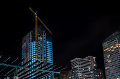 the four seasons penthouses will go for 49 million each. (pbo31) Tags: sanfrancisco california nikon d810 color night black dark january 2020 boury pbo31 bayarea winter soma city urban architecture contemporary howardstreet over construction fourseasons residences crane moscone convention center