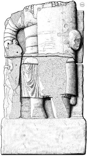 Alba Iulia: Relief of a legionary soldier