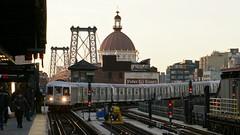 Golden Hour (CrispyBassist) Tags: railroad railway train track transit subway elevated newyork newyorkcity newyorkcitysubway newyorkcitytransit nyc nyct nycta jamaicaline brooklyn