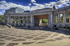 Civic Minded (Jersey JJ) Tags: denver civic center minded hdr photomatix lucis pro outside daylight greek theater