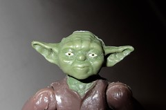 2020 Small Head Yoda Portrait Star Wars 4480 (Brechtbug) Tags: 2020 small head yoda portrait star wars action figure toy toys space opera film movie science fiction scifi droid android protocol robot metal man goblin the force wizard adventure galactic character prototype design ralph mcquarrie