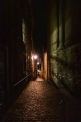 Edinburgh Close (margaretsdad) Tags: dctz200 lumix tz200 panasonic scotland edinburgh midlothian d7100 scottbarron night nightphotography street