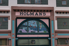 Holman's Building 05 (davidseibold) Tags: america architecture california holmansbuilding jfflickr pacificgrove photosbydavid postedonflickr sign text unitedstates usa unitedstatesofamerica