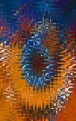 Reflection (ashokboghani) Tags: photoshop photoshopart digitalart digitalpainting abstract abstractart modernart