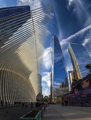 20191019 - 160840 - IMG_9123-7 - 7D - Pano (Susanne & Henrik Dunér) Tags: oculus newyork manhattan sky cielo nebo céu himmel ciel tiānkōng sama cloud nube oblako nuvem wolke nuage yún ghym moln freedomtower