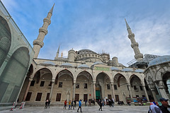 The Blue Mosque (grass-lifeisgood) Tags: canon eos 90d efs1022mm ultrawide architecture blue mosque istanbul turkey travel landmark building