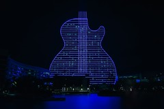 Hard Rock Holly - Guitar Hotel (Davidpaez27) Tags: hardrock hardrockcasino guitarhotel florida miami lights nightshoot night longexposition