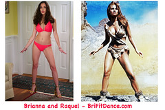 Brianna and Raquel Perfect Fitness (CraigShipp.com Photos - Events / People / Places) Tags: 10 raquelwelch brianna fitness models legs bikini brunette heels curves hair cute beautiful sexy
