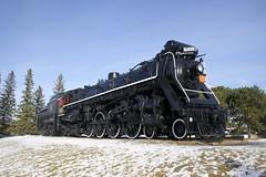 CN 6200 (Michael Berry Railfan) Tags: canadascienceandtechnologymuseum ottawa cn6200 steamengine steam 484 mlw montreallocomotiveworks
