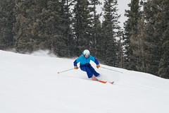 Deb Armstrong (M///S///H) Tags: 1984 70200mm a7riii bambi carsonnationalforest cold debarmstrong goldmedal mirrorless olympicmedalist outside skier skiing sony taos taosskivalley trees tsv turn turning winner winter winterolympics woman blizzardskis blizzard racing racingskis