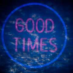 Good times and clouds (sonofwalrus) Tags: holga film lomo lomography scan doubleexposure multipleexposure multiexposure 2x goodtimes clouds circle