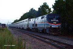 180903_02_AMTK822_53san (AgentADQ) Tags: amtrak passenger train trains auto sanford florida p40 amtk 822 phase iii heritage unit
