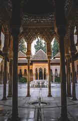 Patio de los leones (Sara Soler) Tags: patiodelosleones alhambra granada patio terrace art arquitectura muslim musulmán españa spain