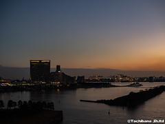 P1131089-HDR (et_dslr_photo) Tags: tokyo tokyonight tokyosunset tokyobay rainbowbridge odaiba shibaura