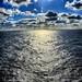 Rayos de Sol sobre el Atlantico