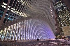 WTC Oculus, 01.04.18 (gigi_nyc) Tags: wtcoculus oculus lowermanhattan newyorkcity winter nyc snow