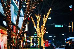 2228/1732 (june1777) Tags: snap street alley seoul night light bokeh sony a7ii konica hexanon ar 50mm f17 400 clear christmas shinchon mod4