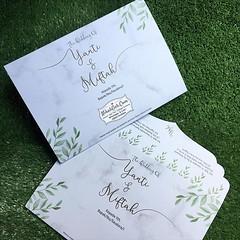 Wedding Invitation Yanti & Miftah Tanya-tanya, atau info lebih lanjut hubungi : ☎ WA : 08561410064 Line : nikahgeh Desain bisa cek di 👉 http://bit.ly/2rnZvXk #nikahgeh #weddingserang #undanganserang #infoserang #undanganminimalis #guestbook #b (NikahGeh) Tags: instagram nikahgeh invitation